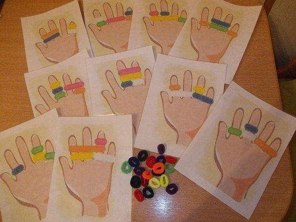 Игры для мелкой моторики рук в детском саду своими руками